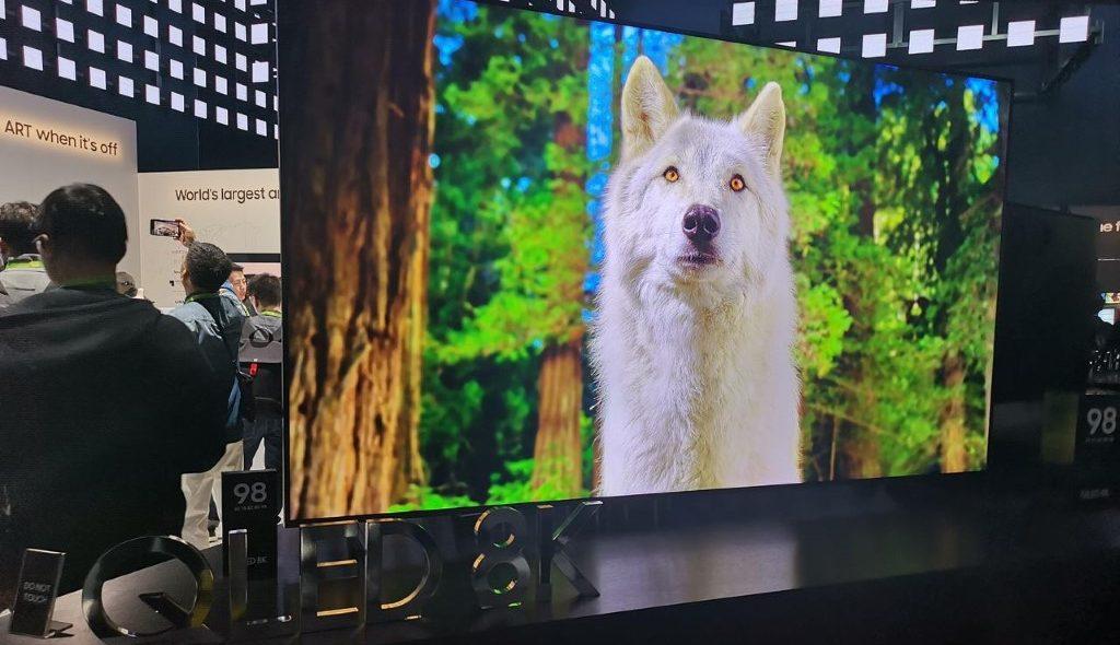 CES 2019: Η Samsung εντυπωσιάζει με QLED 8K στις 98 ίντσες!