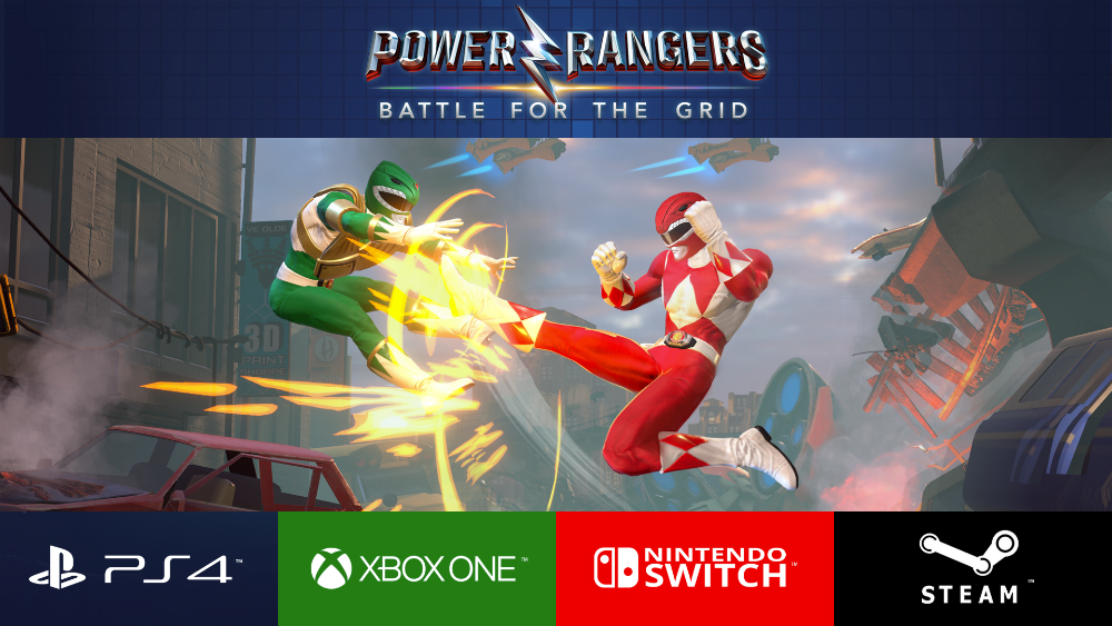 Power Rangers: Battle for the Grid - έρχεται σε κονσόλες και PC!