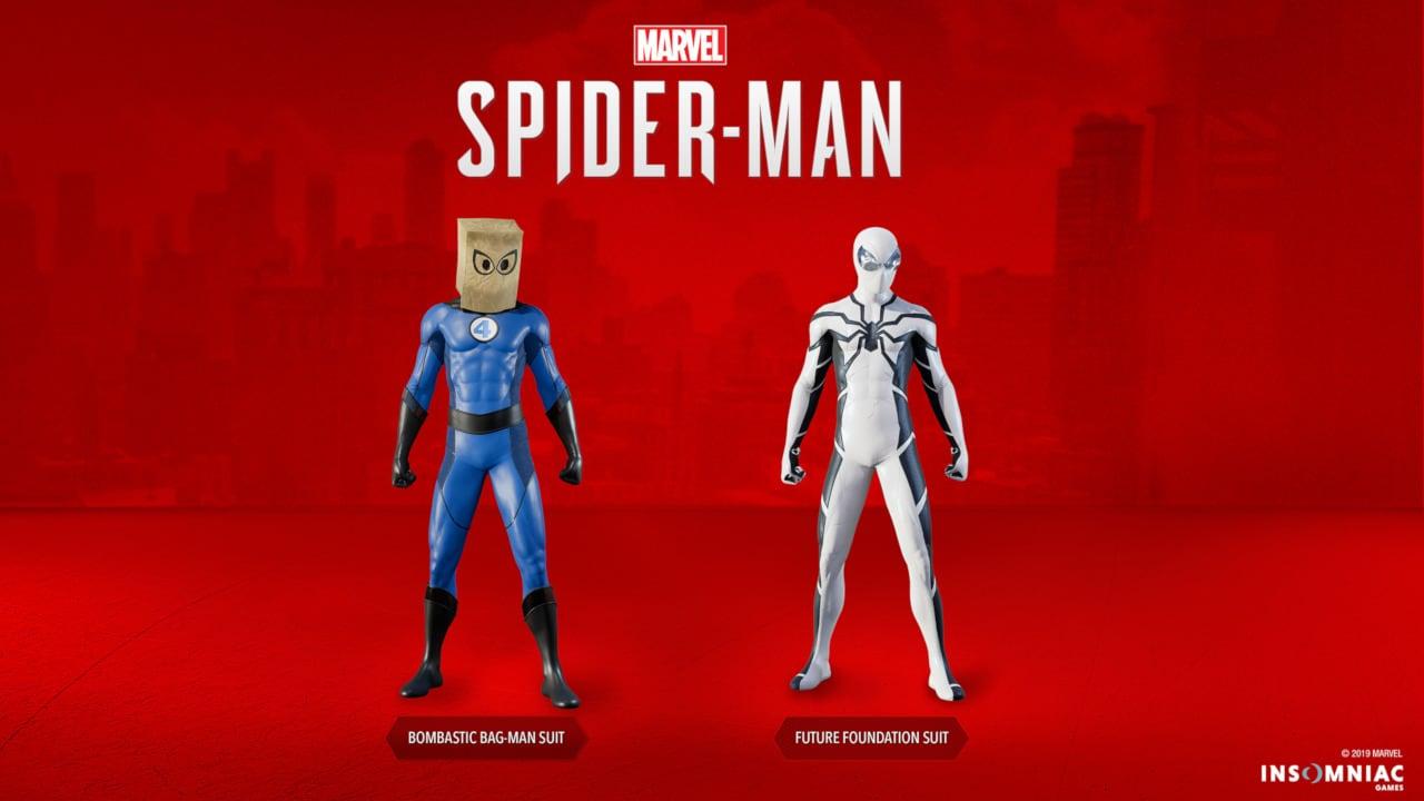 PS4: Δύο νέες φανταστικές στολές προστέθηκαν στο Spider-Man