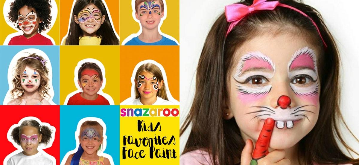 Απόκριες με χρώματα face painting Snazaroo @ Public Athens Metro Mall