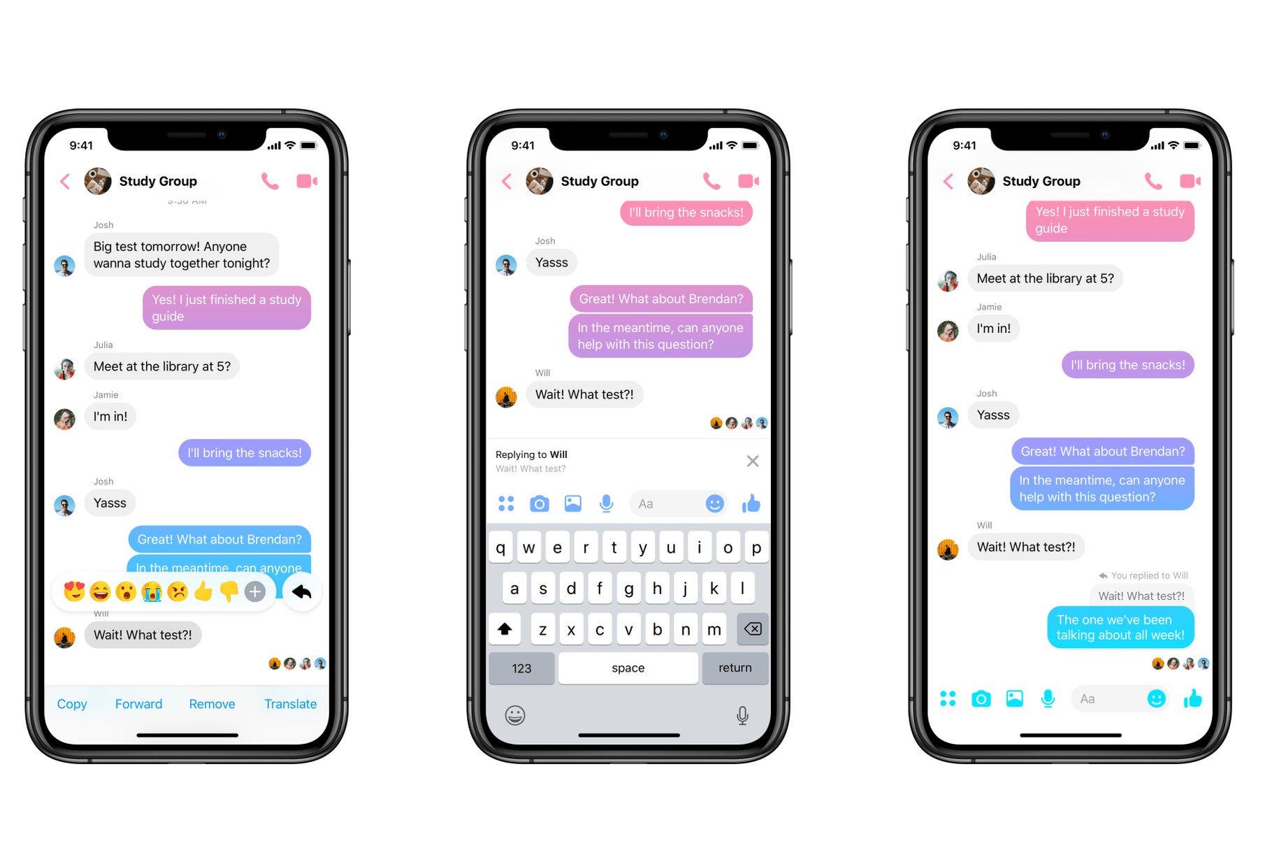 Το FΒ Messenger απόκτησε δυνατότητα direct reply