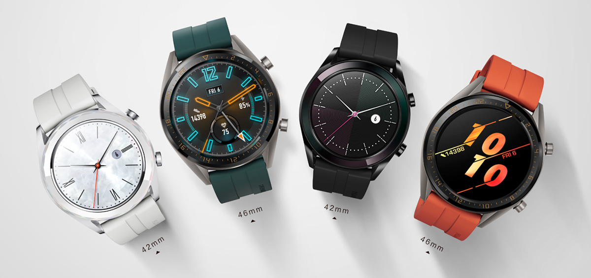 Huawei Watches GT: Έφτασαν οι εκδόσεις Active και Elegant!