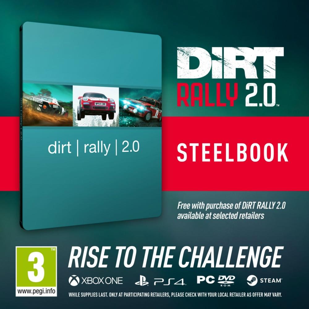DiRT Rally 2.0: Κερδίστε τη Steelbook έκδοση!