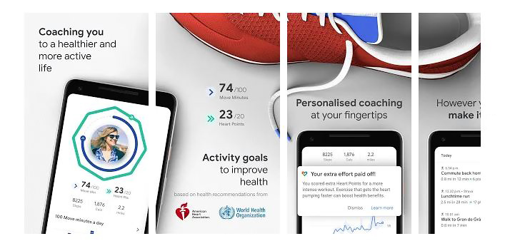 Lets get physical: 4+1 Android εφαρμογές για active lifestyle