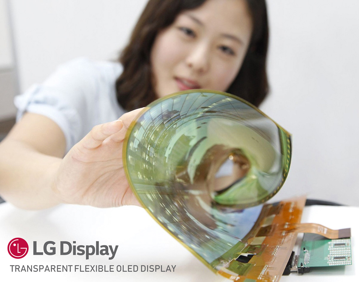 Η LG σχεδιάζει διάφανο foldable smartphone!