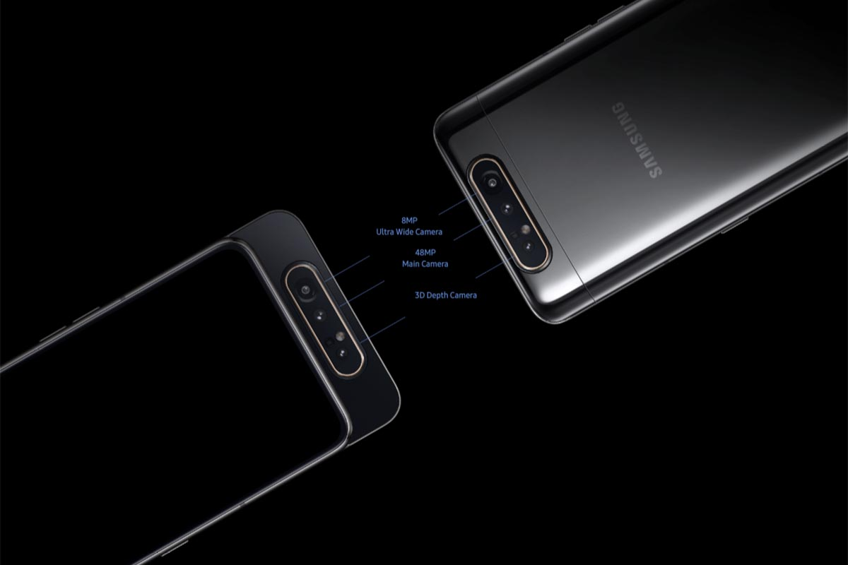 Samsung Galaxy A80: Η πιο ευρηματική λύση για μικρά bezel!