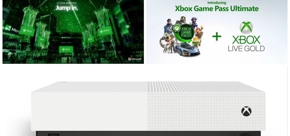 Xbox News: E3 Press Conference, νέο Xbox One χωρίς drive και Game Pass Ultimate!