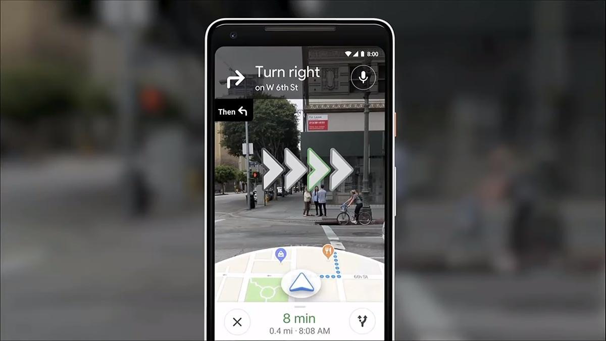 Οι AR οδηγίες πλέον διαθέσιμες στο Google Maps