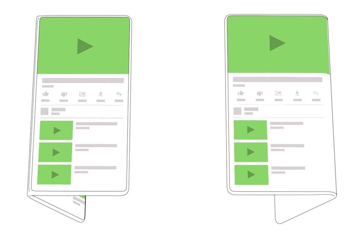 Μια ματιά στο foldable smartphone της Google!