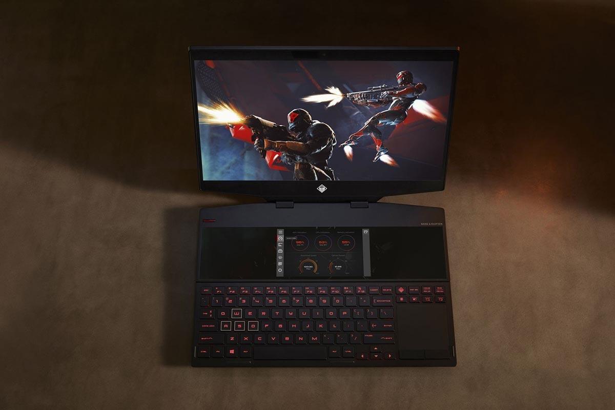 HP Omen X 2S: Το πρώτο gaming laptop με δύο οθόνες