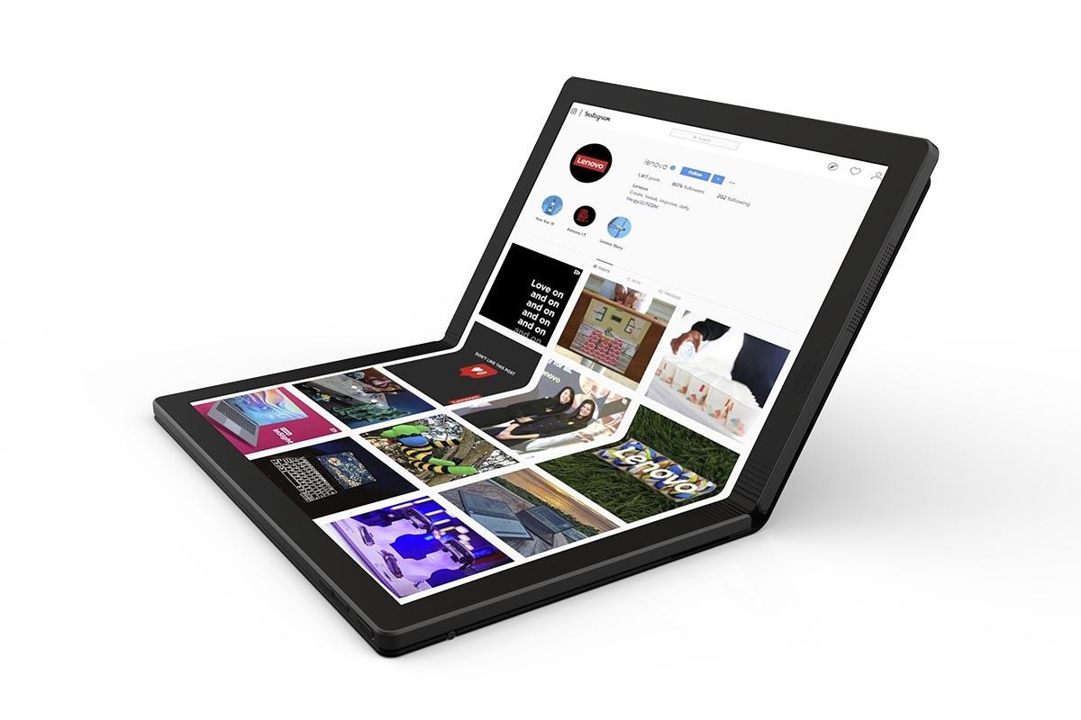 Η Lenovo παρουσίασε το πρώτο foldable laptop στον κόσμο!