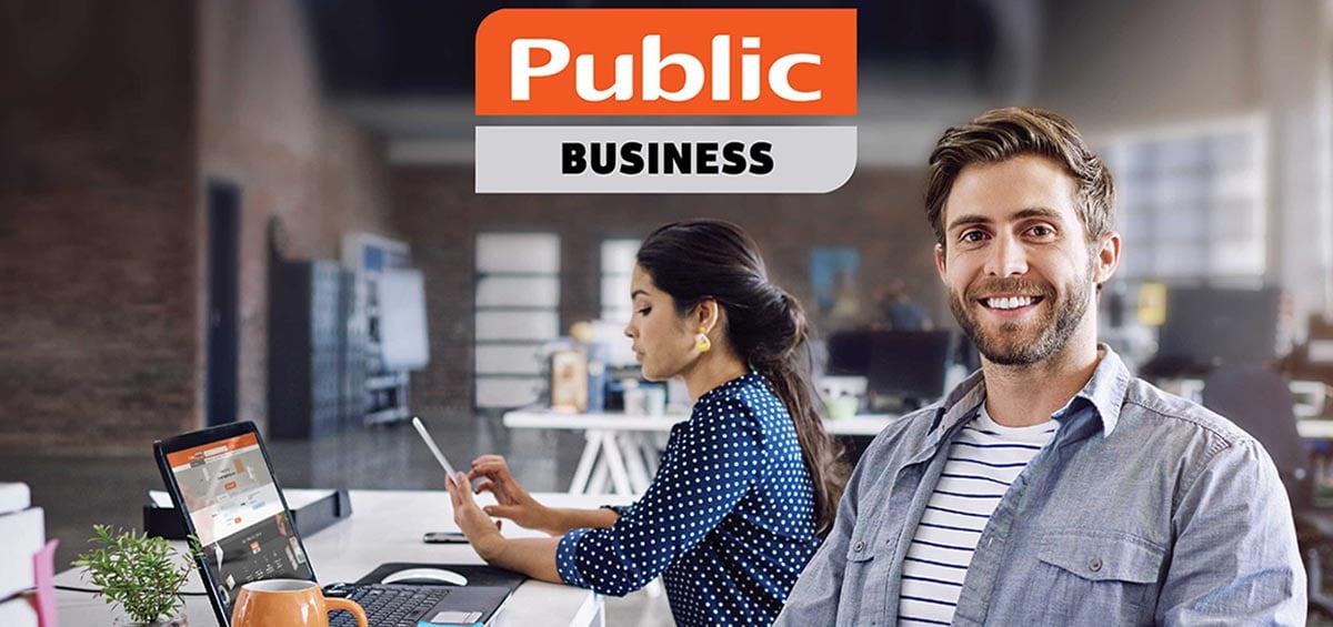 Public Business: όλα όσα χρειάζεστε για την επιχείρησή σας