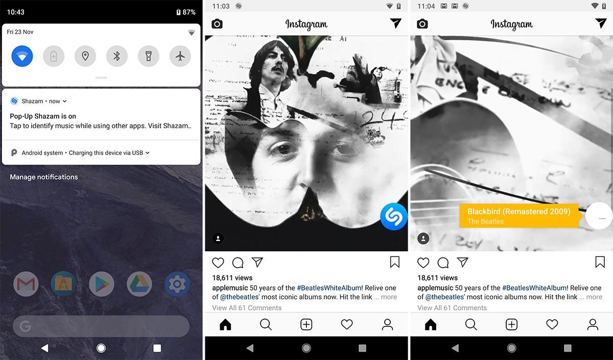 Το Shazam για Android τώρα αναγνωρίζει μουσική ακόμα και από τα ακουστικά σου!