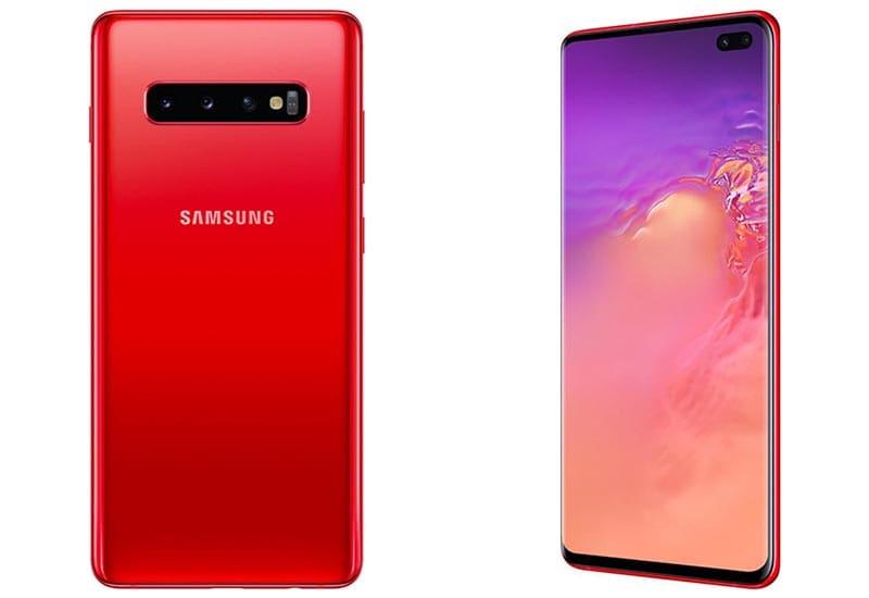 Samsung Galaxy S10: Σύντομα και σε νέο κόκκινο χρώμα