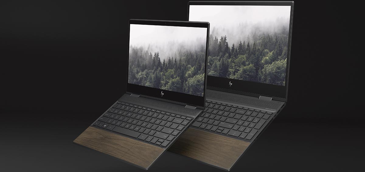 Computex: Η HP παρουσίασε τα πρώτα laptop με πραγματικό ξύλο