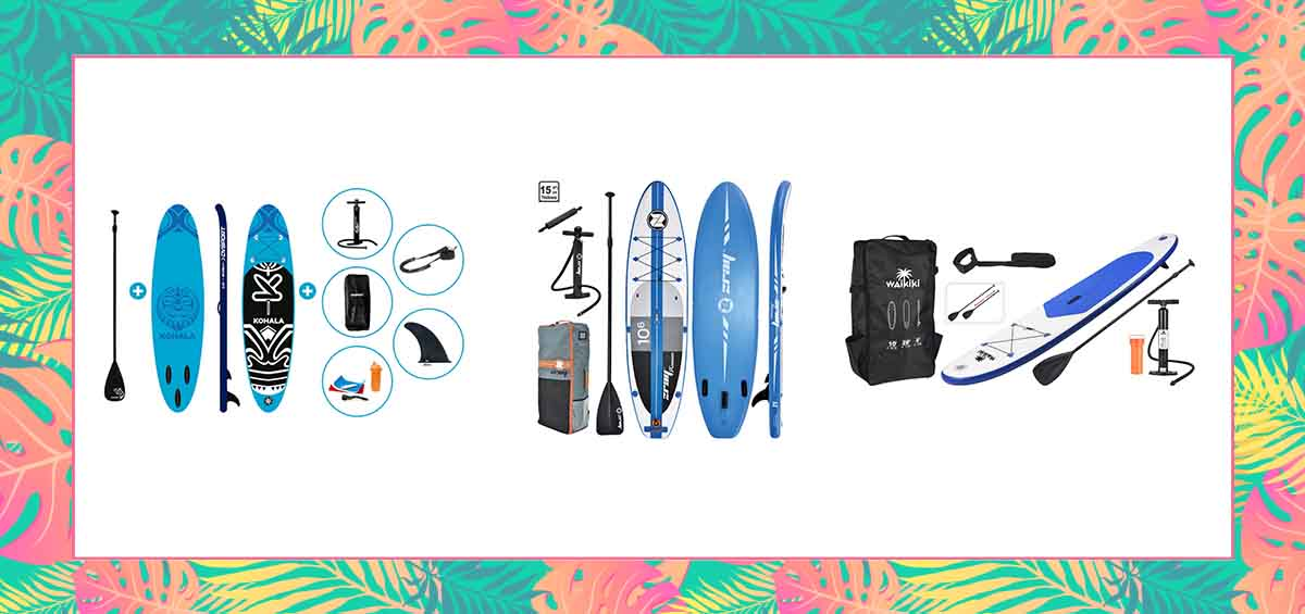 Beach life - the essentials: Σκηνή, αντηλιακό και... SUP!