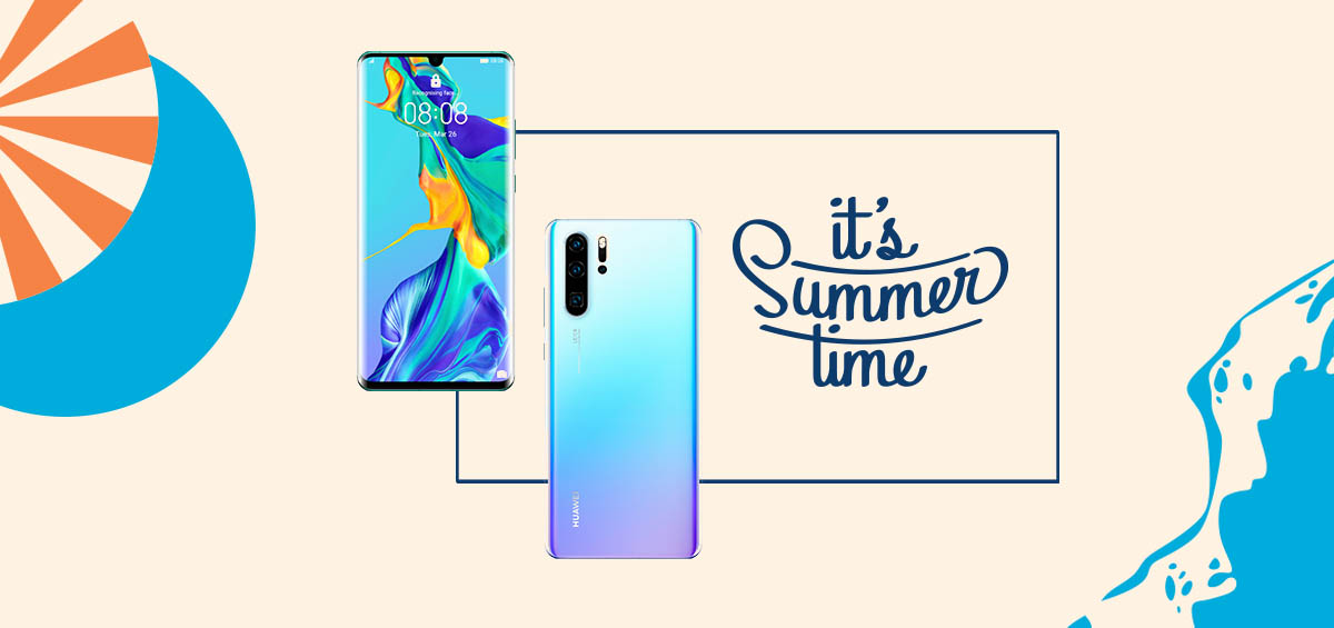 Summer with Huawei: Διάλεξε smartphone και φύγαμε για παραλία!