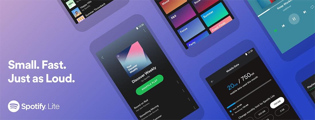 Ανακοινώθηκε το Spotify Lite για Android