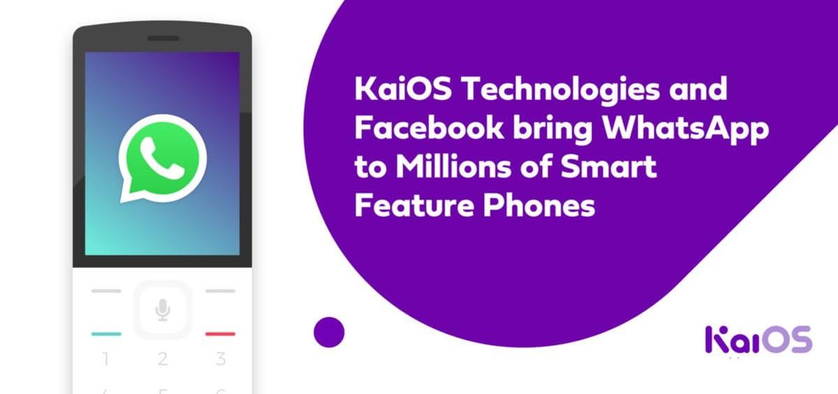 Το WhatsApp έφτασε και στα feature phone με KaiOS