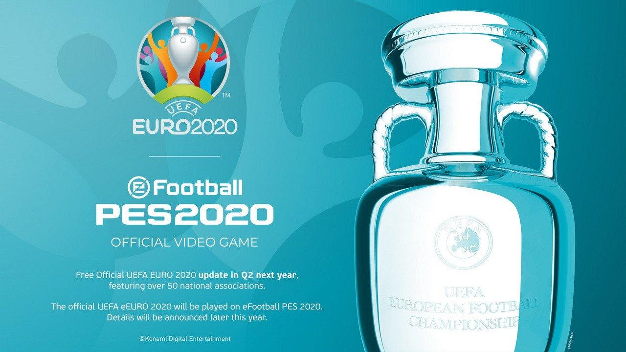Gamescom 2019: To Euro 2020 έρχεται ως DLC στο PES!