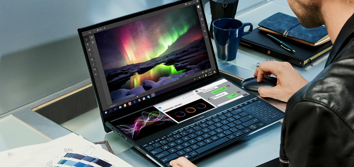Asus ZenBook Pro Duo: Το laptop του αύριο, με δύο οθόνες 4Κ!