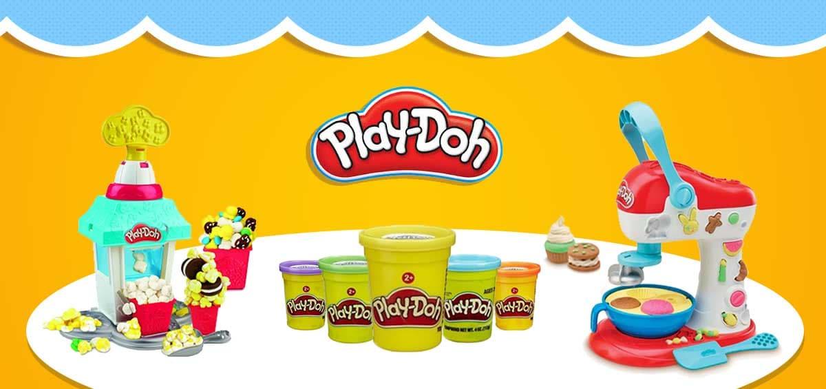 Play-Doh: Έλα να μάθουμε παίζοντας!