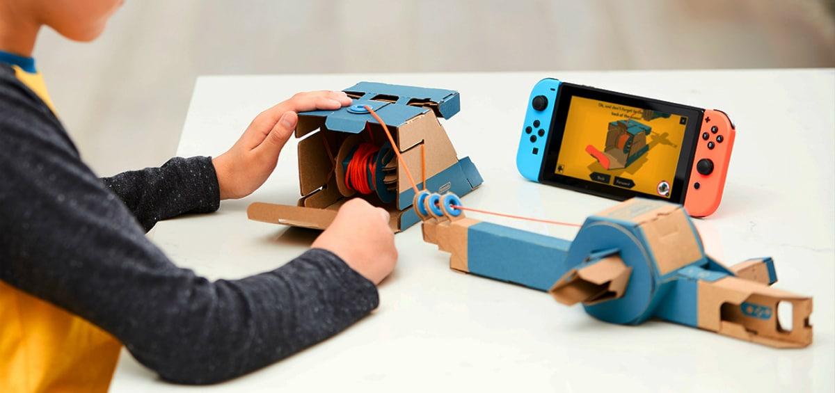 Nintendo Labo: Δημιουργικότητα και gaming πάνε μαζί!
